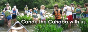 Canoe the Cahaba with us.